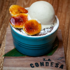 Boca Negra gluten-free dessert at La Condesa (photo from Food and Wine Magazine)