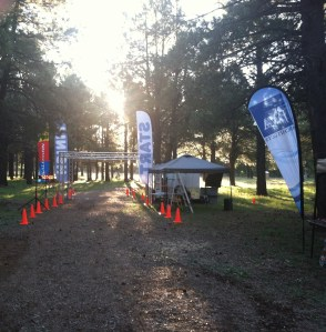 Flagstaff Trail Marathon Start Line 2013