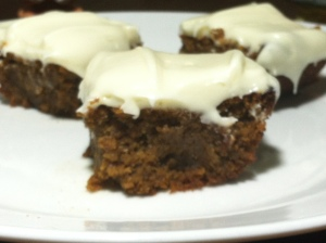 pumpkin bars 1