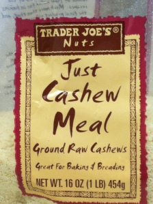 cashew meal