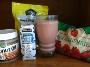 sunflower seed smoothie