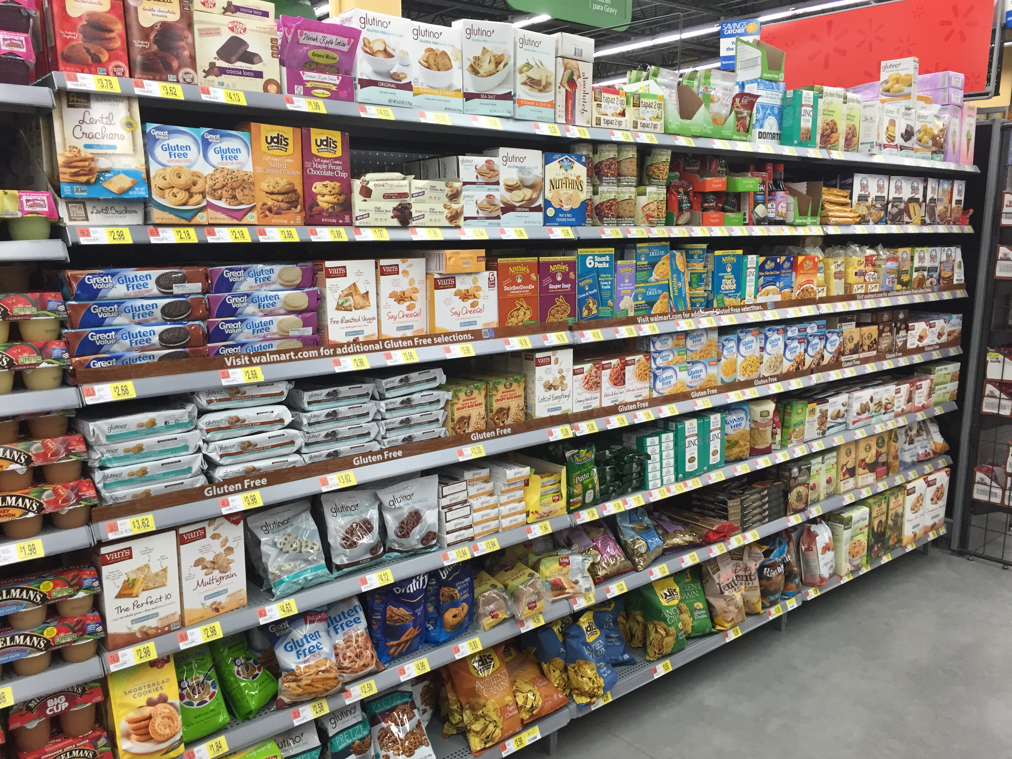 Surprising Wide Variety of Gluten-Free Offerings at ...