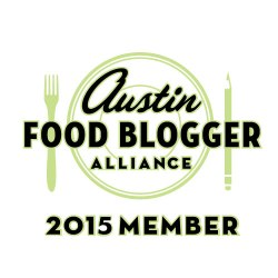 Austin Food Blogger Alliance Member 2014